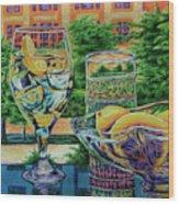 Tuscan Summer Lemonade  Wood Print