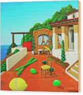 Tuscan Vacation Wood Print