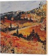 Tuscany 56n Wood Print