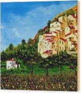 Tuscany Spring Wood Print