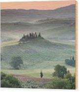 Tuscany Wood Print by Tuscany