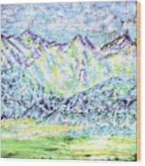 Tusheti Hay Meadows Caucasus Mountains I Wood Print