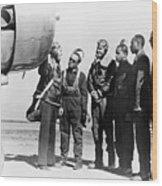 Tuskegee Airmen, 1942 Wood Print