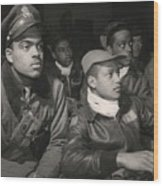 Tuskegee Airmen Of The 332nd Fighter Wood Print