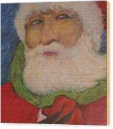 Twas The Night Before Christmas Wood Print