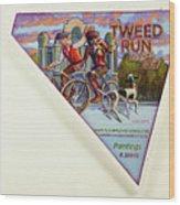 Tweed Run London 2 Guvnors  Wood Print
