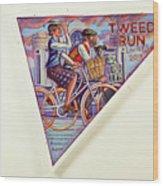 Tweed Run London Princess And Guvnor  Wood Print
