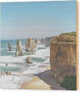 Twelve Apostle Port Campbell National Park Wood Print