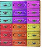 Twelve Options 1. Wood Print