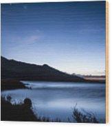 Twilight At Klondike Lake Wood Print