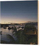 Twilight Cruz Bay Wood Print