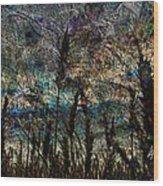Twilight Grain Wood Print