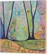 Twilight I Wood Print
