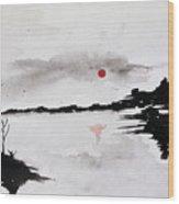 Twilight Journey I Wood Print