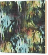 Twilight Labyrinthine Wood Print