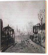 Twilight Landscape 1880 Alexey Kondratievich Savrasov Wood Print