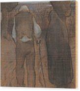 Twilight Wood Print