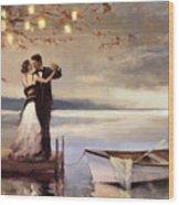 Twilight Romance Wood Print