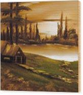 Twilight Time Wood Print