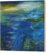 Twilight Waters Wood Print