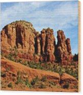 Twin Buttes Sedona Az Hbn2 Wood Print
