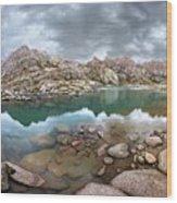 Twin Lakes - Weminuche Wilderness - Colorado Wood Print