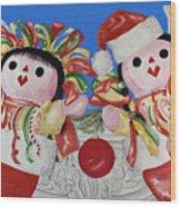 Twin Stockings Wood Print