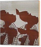 Twins - Tile Wood Print