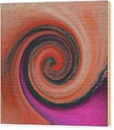 Twirl 07 Wood Print