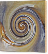 Twirl Art 0032 Wood Print