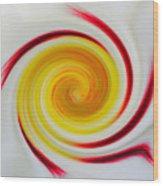 Twirled Cistus 1 Wood Print