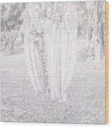 Two Angels, 1904  Wood Print
