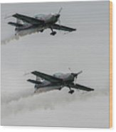 Two  Blades Extra Ea-300 Planes Wood Print