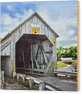 Two Covered Bridges Of St. Martins Wood Print