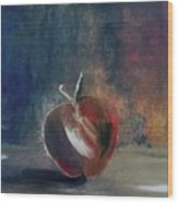 Two Dimensional Apple Wood Print