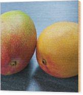 Two Mangos Wood Print