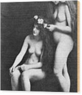 Two Nudes, 1913 Wood Print