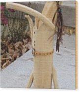 Two Stepper Wood Print by Christine Belt