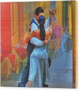 Two Tango Wood Print
