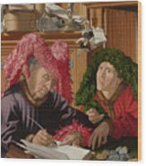 Two Tax Gatherers Wood Print