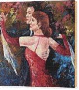 Two To Tango Wood Print
