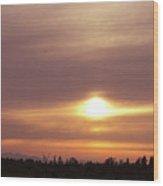 Twr - Sunset 1 Wood Print