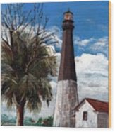 Tybee Lighthouse Wood Print