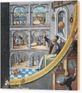 Tycho Brahe (1546-1601) Wood Print