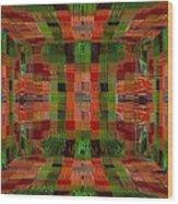 Tye Wood Print