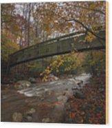 Tye River In Color Wood Print