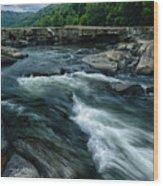 Tygart Valley River Wood Print