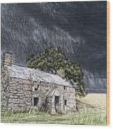 Ty'n Y Llyn 2 Wood Print
