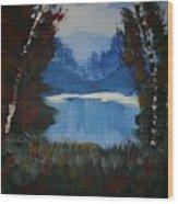Typical Lake Wood Print