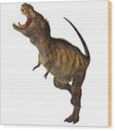Tyrannosaurus Rex Profile Wood Print